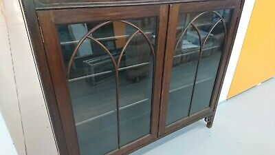 Mahogany display glass cabinet / Book Case Late 1800's/ Early 1900's