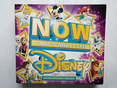 Now That`s What I Call Disney 4CD Ft Frozen Princess + Christmas New & Sealed CG