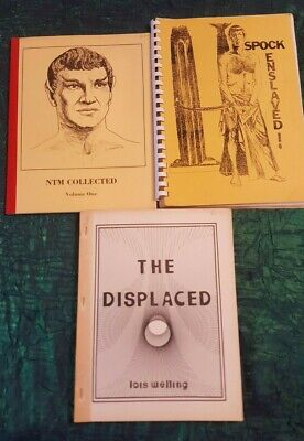3 Star Trek Fanzine Magazines Spock Enslaved NTM Collected Vol 1 The Displaced