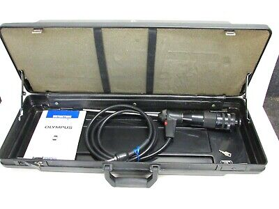 OLYMPUS RIGID OES BORESCOPE G080-025-090-50, w/ CASE PICTURED