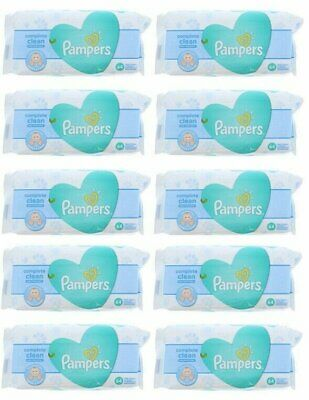 PAMPERS BABY WIPES FRESH CLEAN 64ct (10 PACK)
