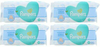 PAMPERS BABY WIPES FRESH CLEAN 64ct (4 PACK)