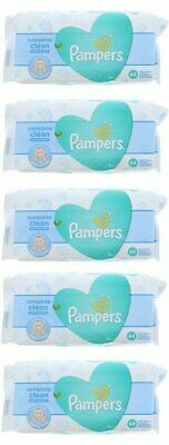PAMPERS BABY WIPES FRESH CLEAN 64ct (5 PACK)