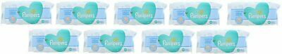 PAMPERS BABY WIPES FRESH CLEAN 64ct (9 PACK)