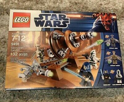 LEGO Star Wars 9491 Geonosian Cannon NEW and sealed in box
