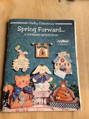 Tole Painting Instruction and Pattern Book Spring Wooden Decor Crafts