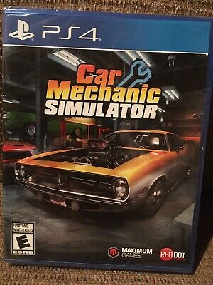 Car Mechanic Simulator (PlayStation 4) PS4, New & Sealed with Free Shipping!