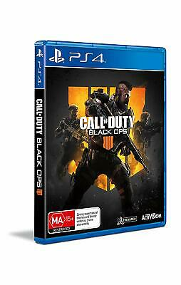 COD Call Of Duty Black Ops 4 PlayStation 4 PS4 GAME BRAND NEW FREE POSTAGE