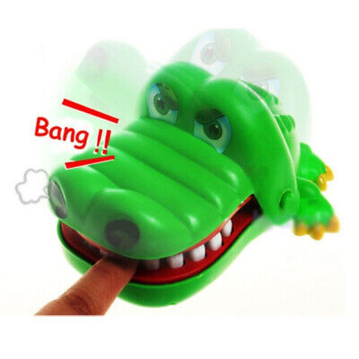 Crocodile Mouth Dentist Bite Finger Game Funny Toy Gift for Kids Adult Party Toy