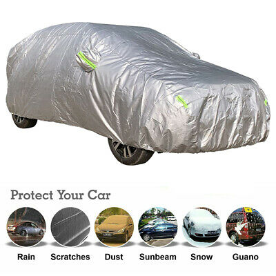 Waterproof 4x4 4WD SUV Large Full Car Cover Outdoor WeatherTec 4.85x1.9x1.85M