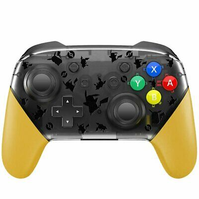 Wireless Bluetooth Pro Controller Gamepad remote Pikachu for Switch