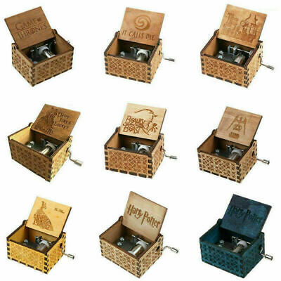 【Harry Potter】【It calls Me】Music Box Engraved Wooden Music Box Toys Great Gifts