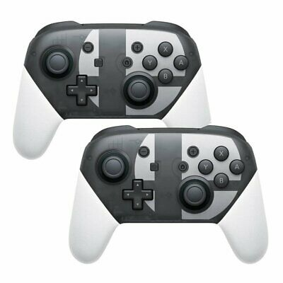 2x Wireless Pro Controller Gamepad For Switch Super Smash Bros.