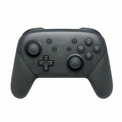 Wireless Bluetooth Pro Controller Gamepad + Charging Cable for Switch Black