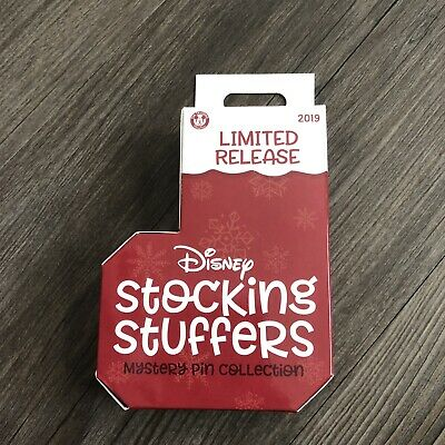 2019 Disney Parks Holiday Stocking Stuffers Mystery Box Pin Limited Release
