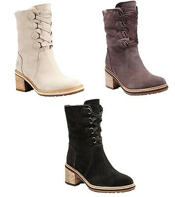 TIMBERLAND WOMANS SIENNA High Water Proof Suede Boots Off