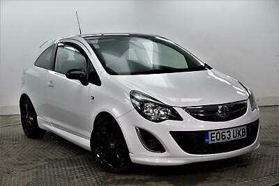 2013 Vauxhall Corsa LIMITED EDITION Petrol white Manual