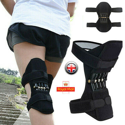 Patella Booster Spring Knee Brace Support Mountaineering Squat Sports Gym UK