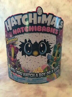 Hatchimals HatchiBabies Ponnette - Boy or Girl? Interactive Baby Pet Toy NEW!