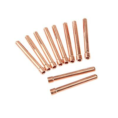 10pcs 3//32 10N24 2.4mm TIG Collet Tips For WP17 18 26 TIG Welding Torch Series
