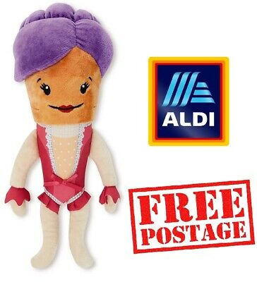 Official Aldi Katie the Carrot 2019 Christmas Costume Kevin Plush Soft Toy