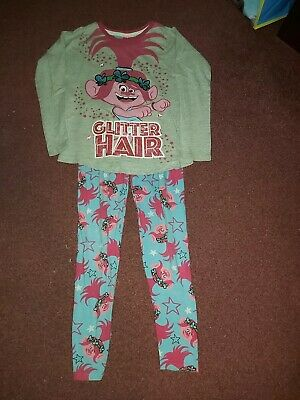 Girls TU Trolls Pyjamas 7-8 Years