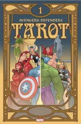 Avengers Defenders Tarot #1 Cover A 1/1/2020 Free Shipping Available