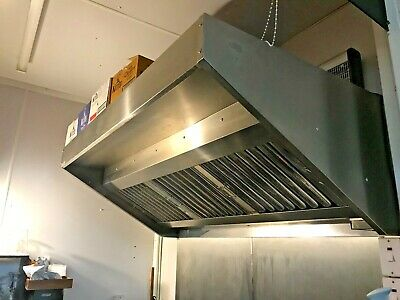 STAINLESS STEEL GENERAL CANOPY / FAN INCLUDED (1800 x 1000 x 600 mm)