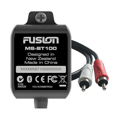 FUSION MS-BT100 Bluetooth Dongle AUX RCA Adapter Fusion Stereo Radio Streaming
