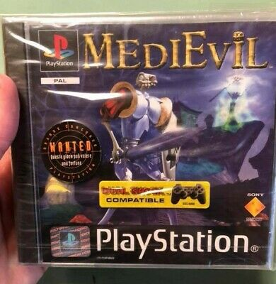 Medievil Sony Ps1 Playstation Sigillato Sealed New Rare Ps4 Games