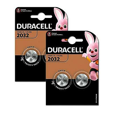 Duracell CR2032 3v LITHIUM Coin Cell Batteries ( 4 Battery ) DL2032 BR2032