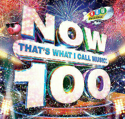 NOW 100 [CD] Now That's What I Call Music 100! **NEW & SEALED** UK
