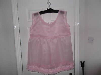 Sissy~Maids~Adult Baby~Tv/Cd~Unisex Organza & Lace Babydoll