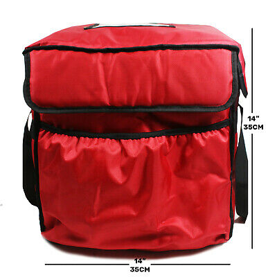 *Heating Element* Pizza/Takeaway Delivery Bag With Adaptable Car/Mains Charger