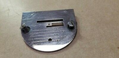 Original Singer 221 Featherweight Sewing Machine Parts Graduated Needle Plate