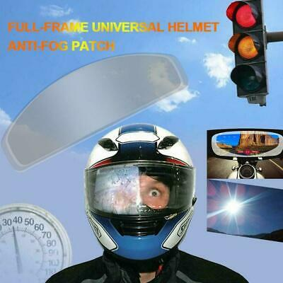 Motorcycle Helmet Lens Fog Film Ultra Clear Patch Sticker Adjustment X4I8