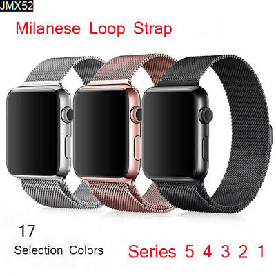 Milanese Loop Magnetic For Apple Watch Strap 44/42/40/38mm iwatch Band 5 4 3 2 1