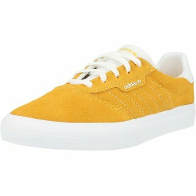 adidas 3MC J Active Gold Leather Youth Trainers Shoes