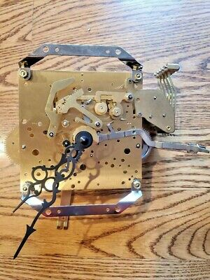 Complete Kieninger SKS-12 Grandfather Clock Movement Howard Miller Excellent Con