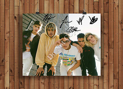 PRETTYMUCH Signed Autographed Reprint 8x10 Photo Poster Print Prettymuch Band