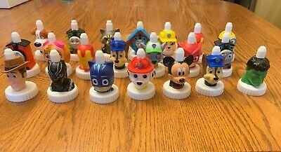 Good 2 Grow Disney Marvel Spill-Proof Toppers 21 VGUC