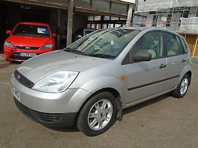 2003 03 Ford Fiesta 1.4 LX Silver 5-Door Air Con FSH New Tyres New Clutch