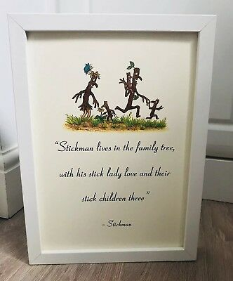 The Gruffalo Julia Donaldson Quote Art Print Unframed Gift Nursery Christening