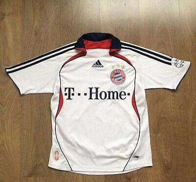 Adidas FC Bayern Munich Munchen Football Shirt Size L Boys 32/34 14 Years