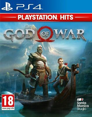 God of War HITS RANGE (PS4) Brand New & Sealed Free UK P&P