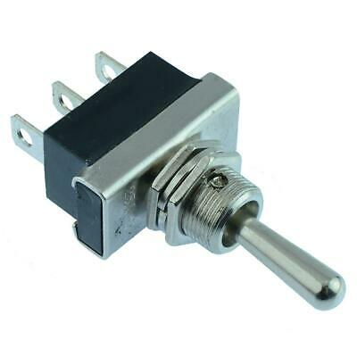 (On)-Off-(on) Momentary Toggle Switch SPDT 25A 12VDC