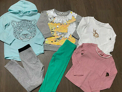Next Bluezoo Outfitkids Girls Bundle Top Jumper Leggings Size 5-6 Years