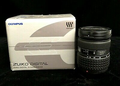 Olympus Zuiko 14-54mm f/2.8-3.5 Lens For Four Thirds No Hood