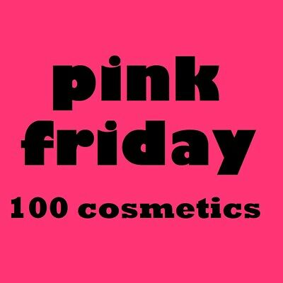 100 Mixed Cosmetics Branded Make Up Wholesale shop Clearance Joblot pink friday