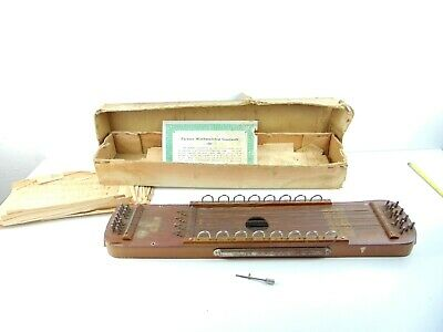 Vintage Ukelin Made By International Musical Corporation With Sheet Music